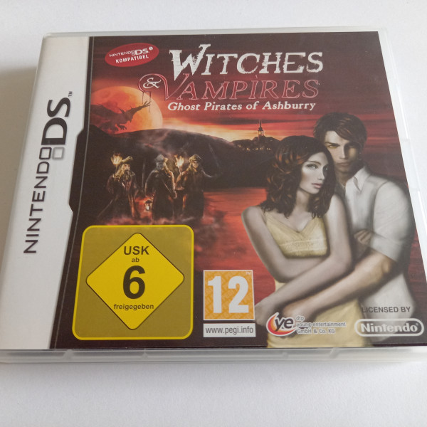Witches & Vampires - Ghost Pirates of Ashburry - DS