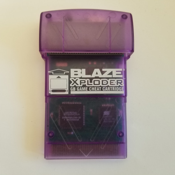Blaze Xploder für Game Boy