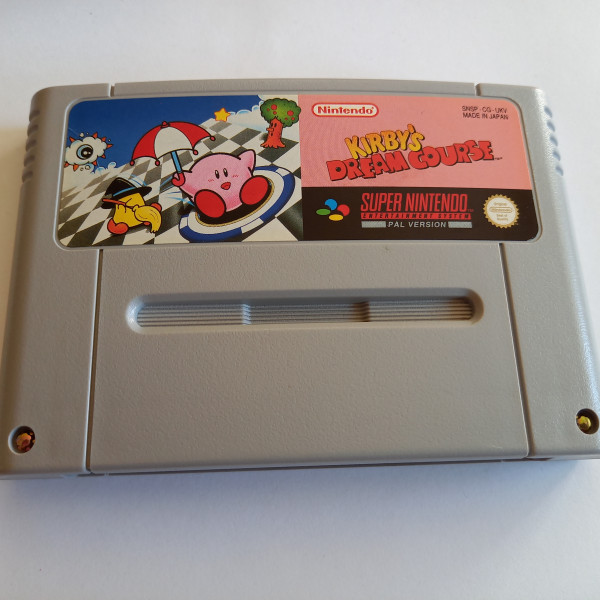 Kirby`s Dream Course - SNES