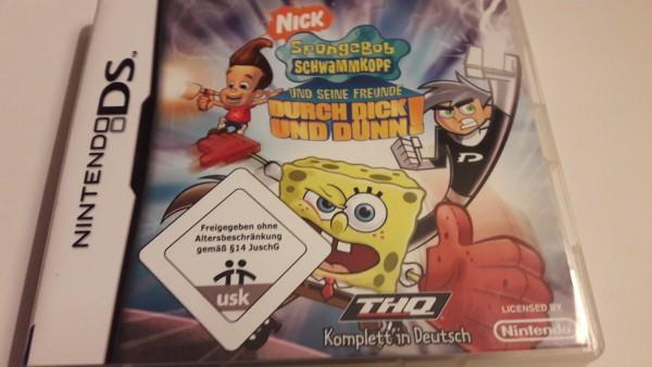 Spongebob Schwammkopf und seine Freunde - Durch dick und dünn - DS