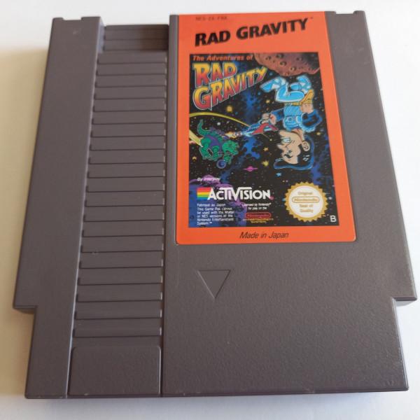 Rad Gravity - NES