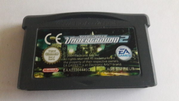 Need for Speed - Underground 2 - GBA