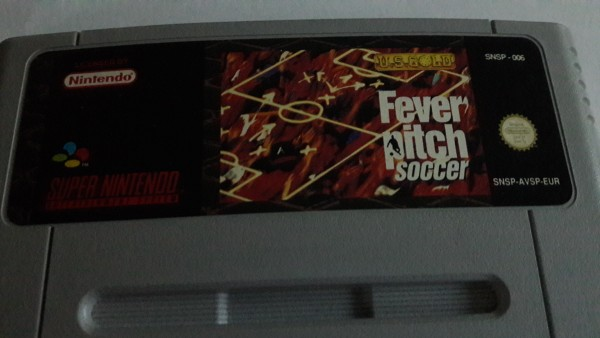 Fever Pitch Soccer - SNES
