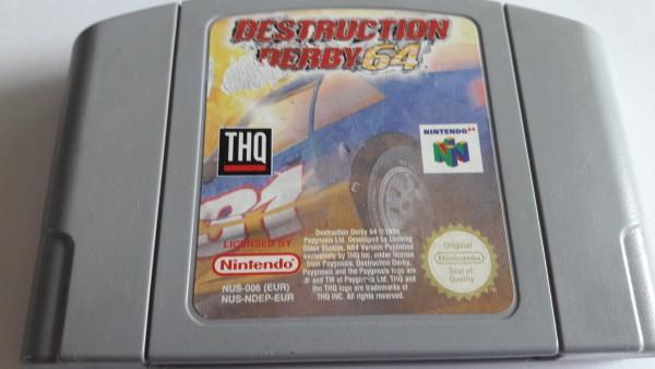 Destruction Derby 64 - N64