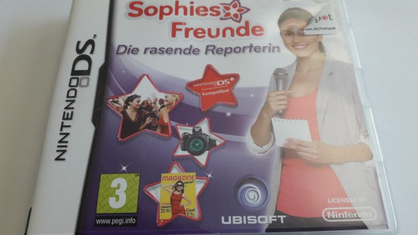 Sophies Freunde - Die rasende Reporterin - DS