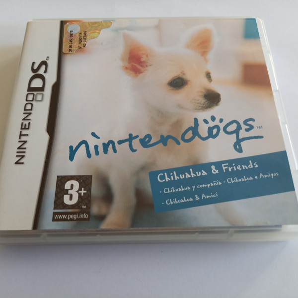 Nintendogs - Chihuahua & Friends - DS