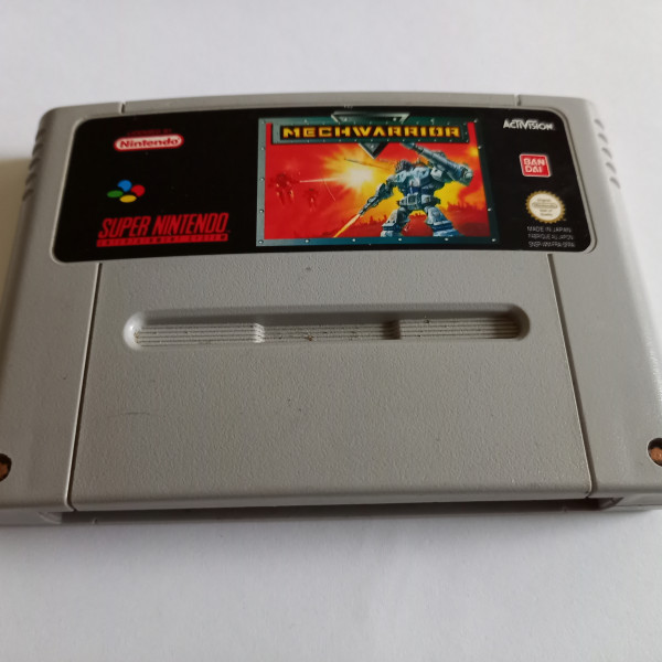 MechWarrior - SNES