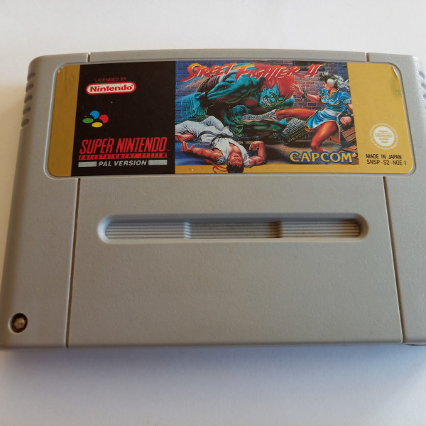 Street Fighter II - SNES