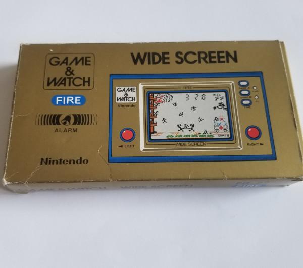 Fire - Wide Screen - Game & Watch (FR-27)