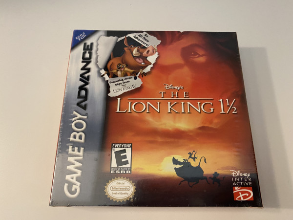 The Lion King 1 1/2 - GBA - OVP