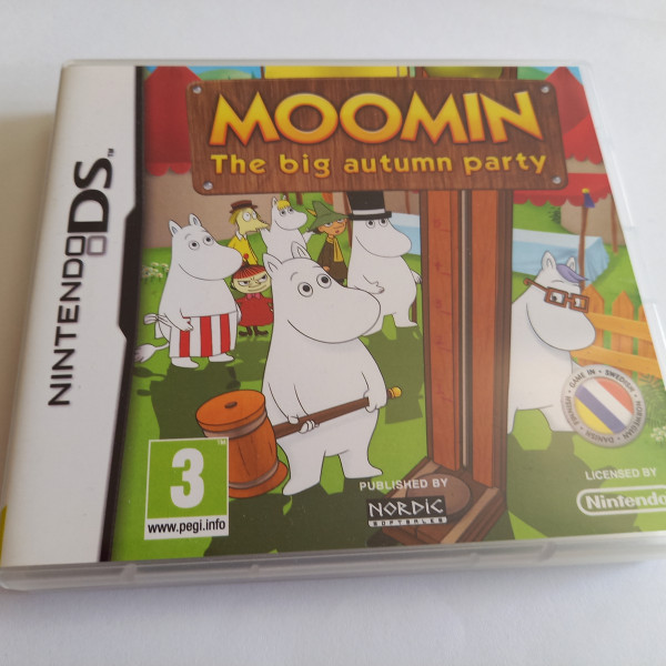 Moomin / Mumin - The big Autumn Party - DS