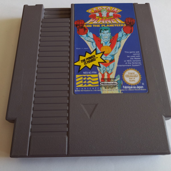 Captain Planet and the Planeteers - NES