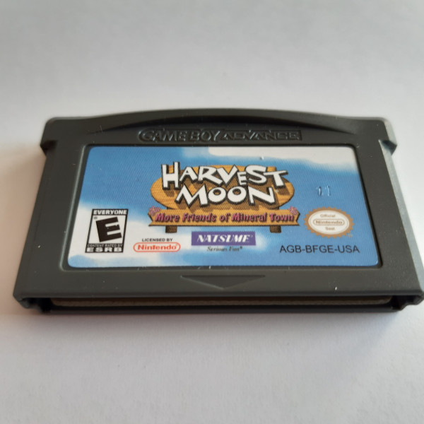 Harvest Moon - More Friends of Mineral Town - GBA