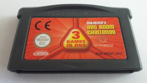 Majesco`s Rec Room Challenge - GBA