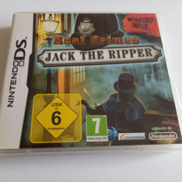 Real Crimes - Jack The Ripper - DS