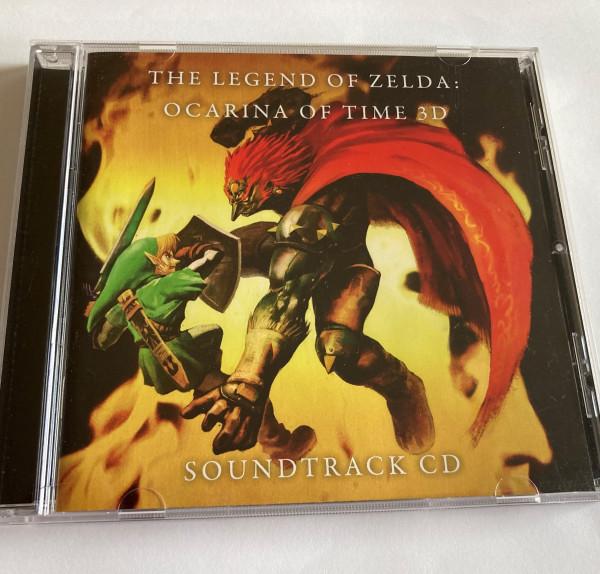 Zelda - Ocarina of Time 3D Soundtrack - CD