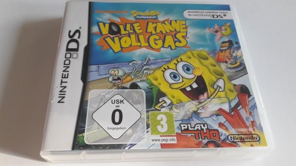 Spongebob Schwammkopf - Volle Kanne Vollgas - DS