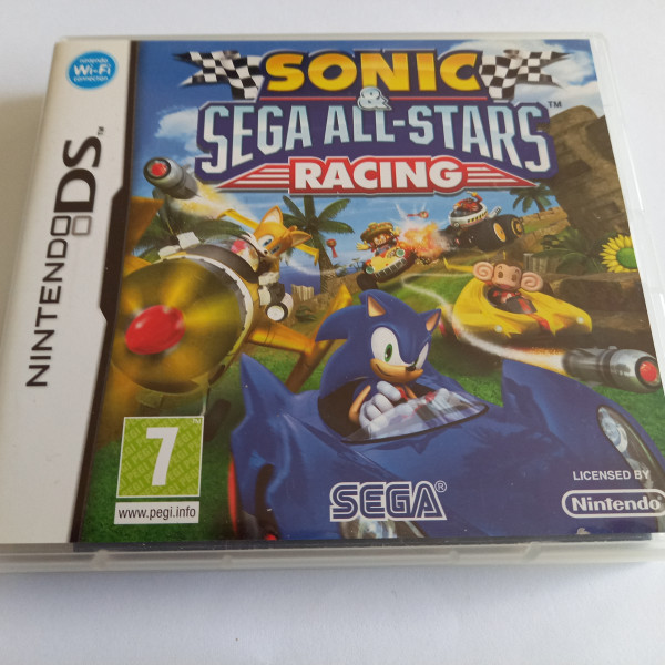 Sonic - Sega All-Stars Racing - DS