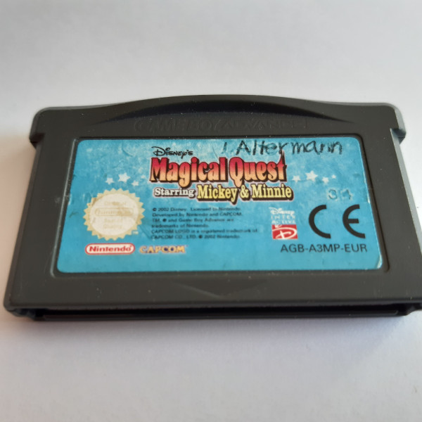 Magical Quest Starring Mickey & Minnie - GBA