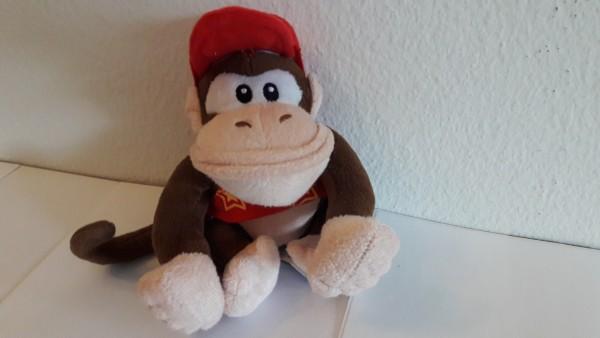 Diddy Kong - Plüschfigur
