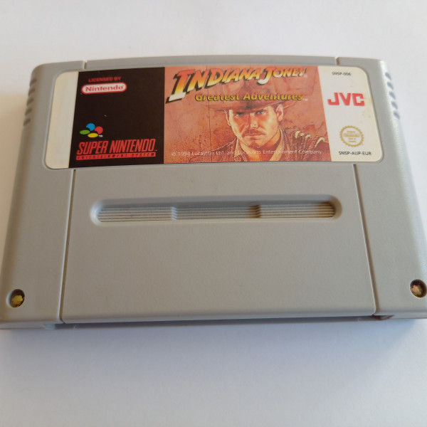 Indiana Jones - Greatest Adventures - SNES