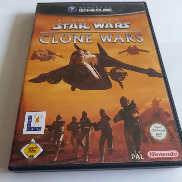 Star Wars - Clone Wars - GameCube