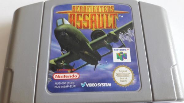 Aerofighters Assault - N64