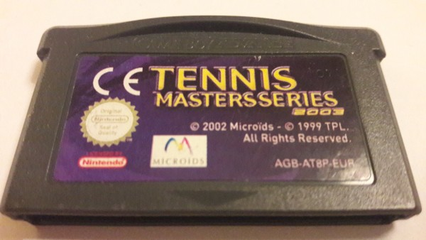 Tennis Master Series 2003 - GBA