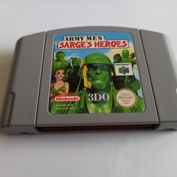 Army Men - Sarge`s Hero - N64