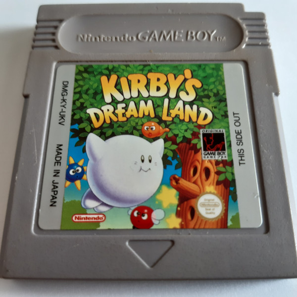 Kirby`s Dream Land - Game Boy