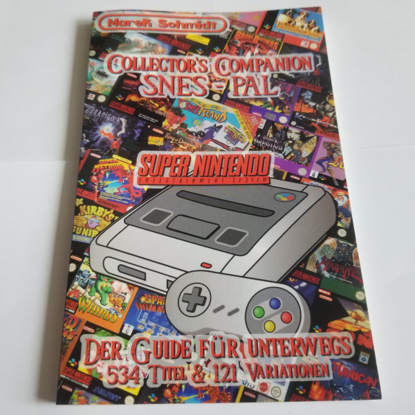 Collector`s Companion SNES - PAL - Buch