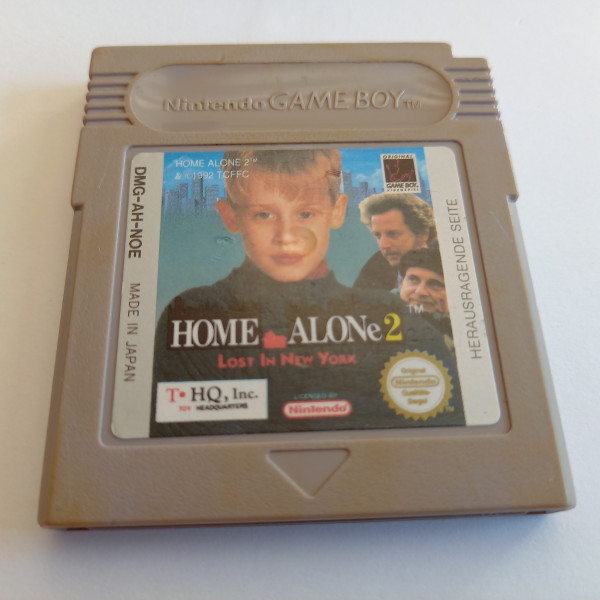 Home Alone 2 - Lost in New York - Game Boy