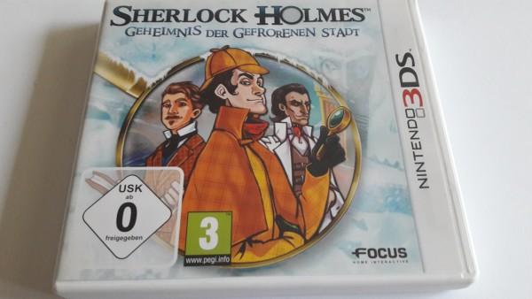 Sherlock Holmes - Geheimnis Der Gefrorenen Stadt - 3DS