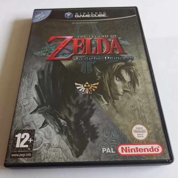 The Legend of Zelda - Twilight Princess - GameCube