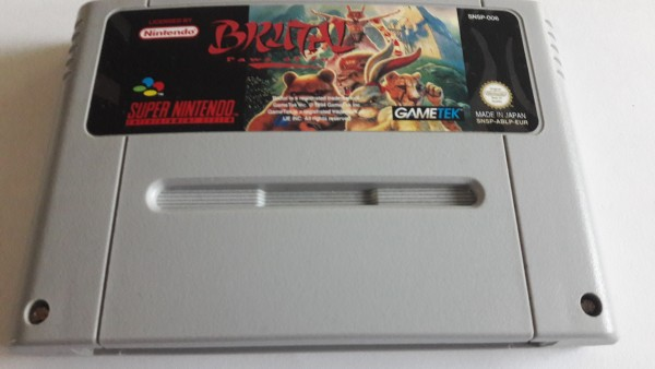 Brutal - Paws of Fury - SNES