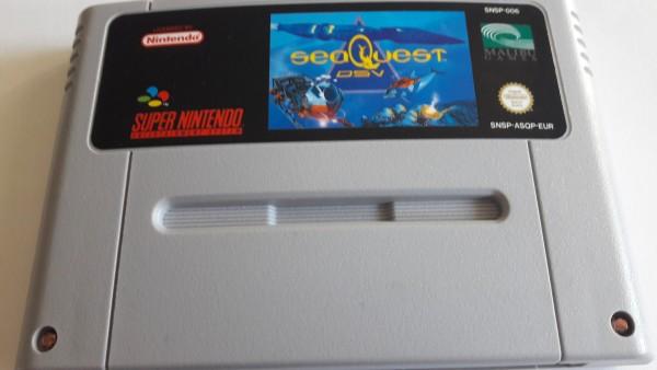 Sea Quest DSV - SNES