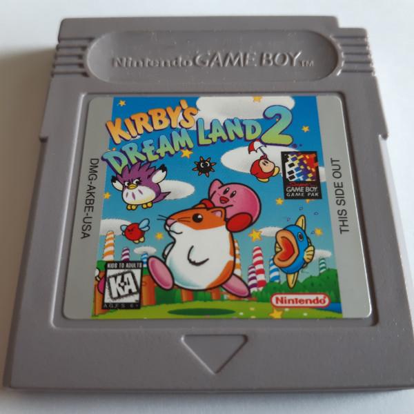 Kirby`s Dream Land 2 - Game Boy