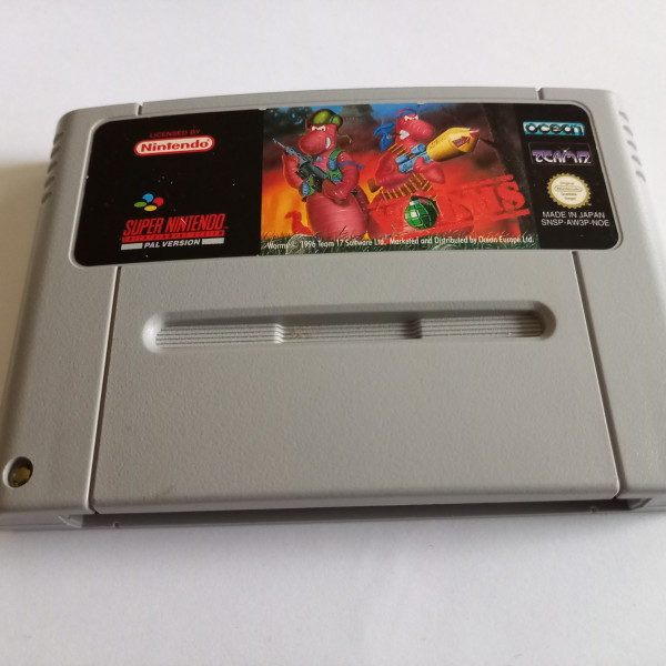 Worms - SNES