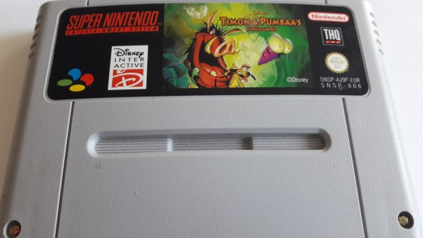 Timon und Pumbaa`s Jungle Games - SNES