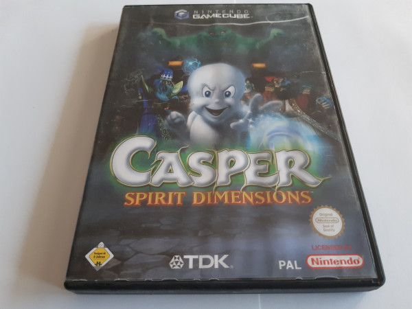 Casper - Spirit Dimensions - GameCube