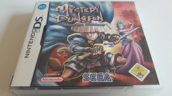 Mystery Dungeon - Shiren the Wanderer - DS