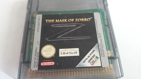 The Mask of Zorro - GBC