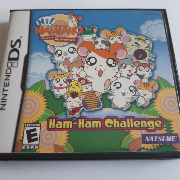 Hamtaro - Ham-Ham Challenge - DS