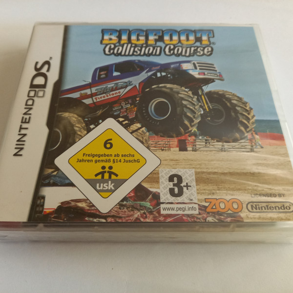 Bigfoot - Collision Course - DS
