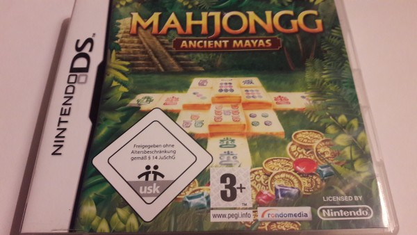 Mahjongg - Acient Mayas - DS