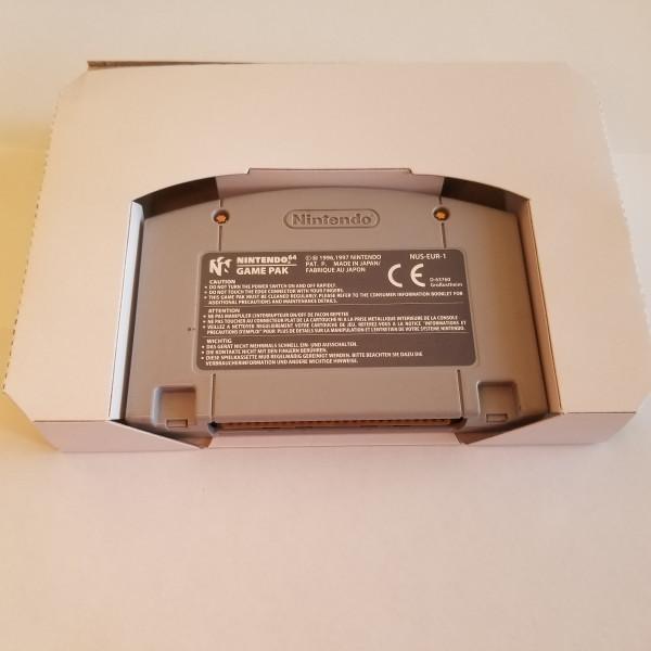 Karton Inlay für N64 OVP's