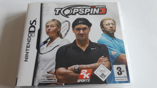 Top Spin 3 - DS