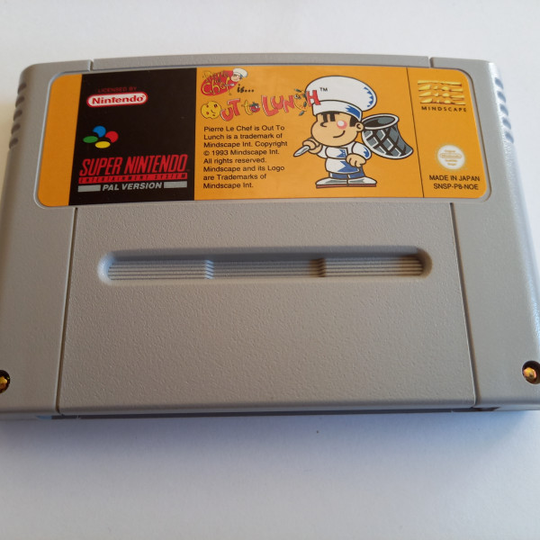 Out to Lunch - SNES