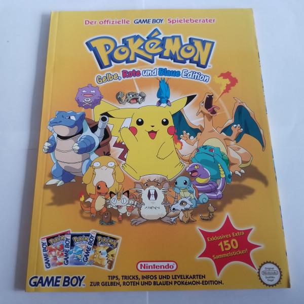Pokémon Gelbe, Blaue & Rote Edition - Spieleberater - Game Boy