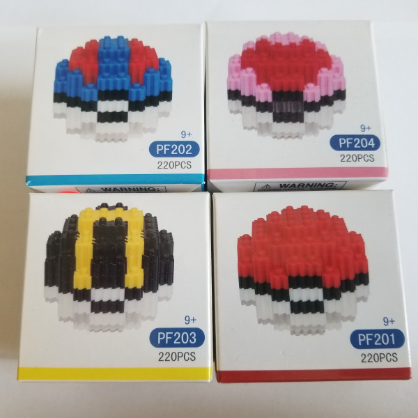 Pokeball - Blocks - Lego